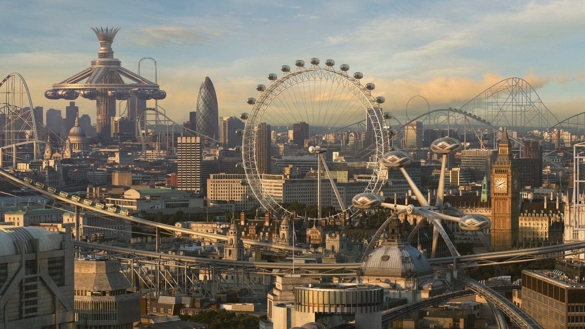 London's Fate: Visions of a Future London in Film and Television