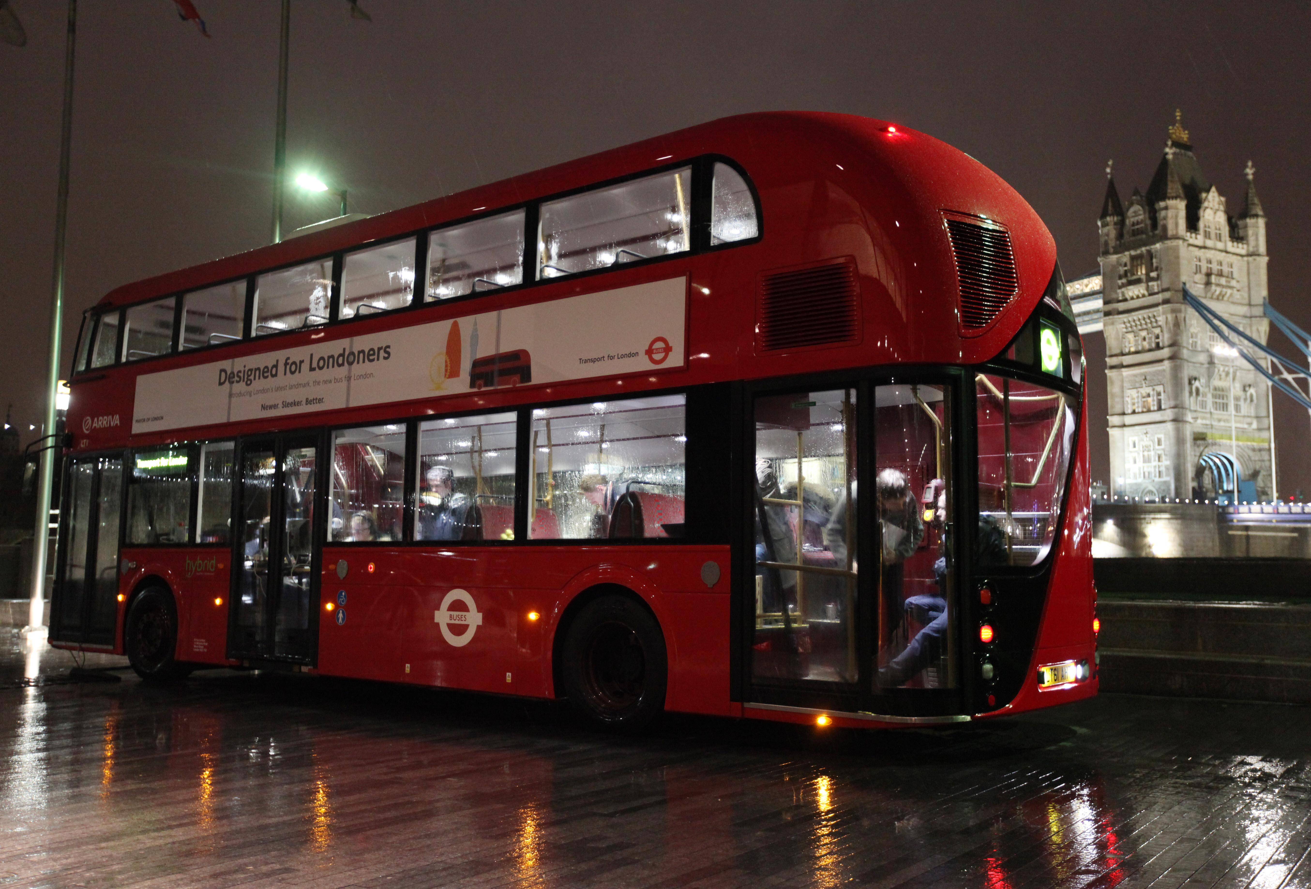london 39 s new routemaster hits the road in london as it goes into service londontopia. Black Bedroom Furniture Sets. Home Design Ideas