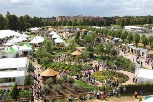 All the world at Britain's biggest flower show at Hampton Court