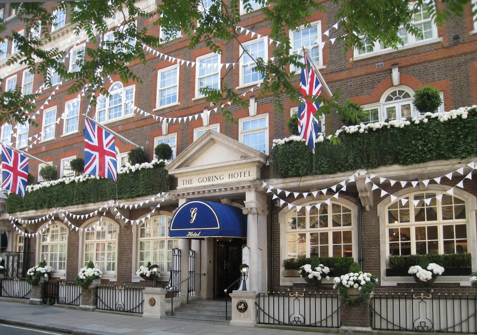 Where Is The Goring Hotel London