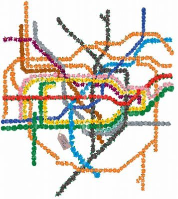 Chelsea Flower Show Tube Map