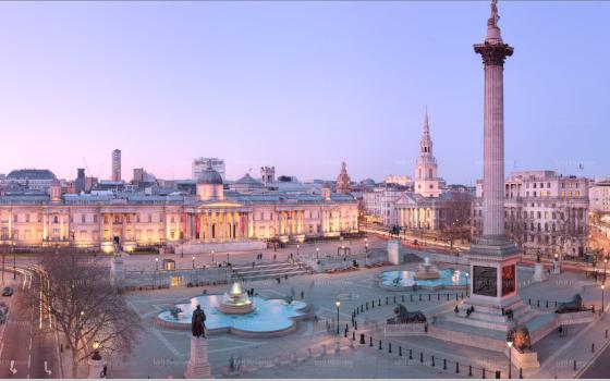 Amazing Interactive Panorama of Trafalgar Square