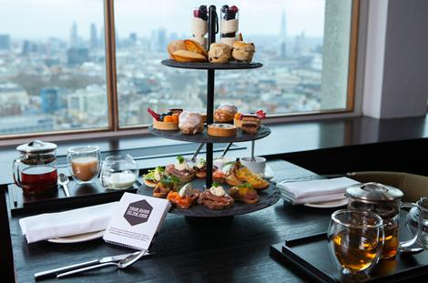 High(est) Tea in London: Paramount Launches High Tea 32 Floors Above Soho
