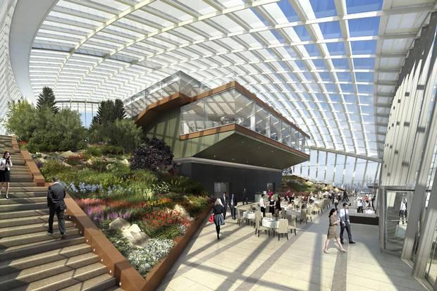 First Peek At London S New Sky Garden In The Walkie Talkie