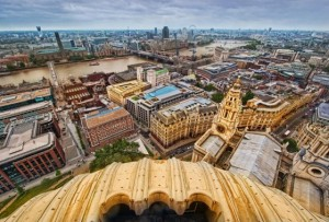 Great Picture of London from St Paul's by Stuck in Customs
