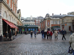 Exploring London: 10 Random Facts and Figures about Covent Garden Piazza and Market