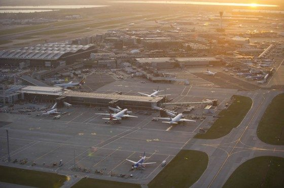 Stunning Pictures of Heathrow Airport Released by Jason Hawkes