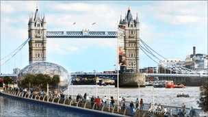 London 2012: Floating Walkway Planned for Thames