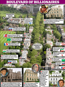 Britain's Richest Street Revealed – Picture Inside