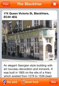 Fun New iPhone App: London Pub Crawls