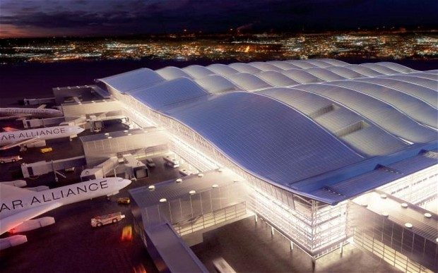 An Inside Look at the new Heathrow Terminal Under Construction