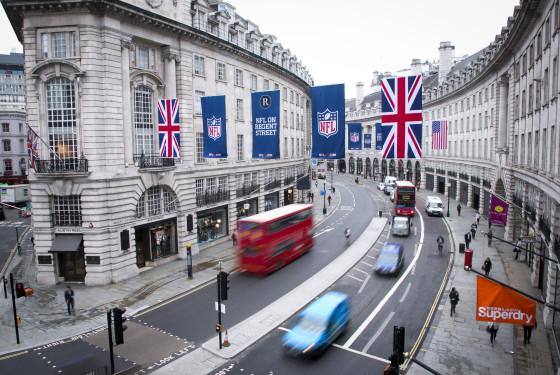 NFL on Regent Street - Flags_9