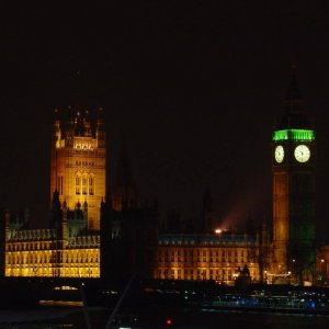 Photo: Houses of Parliament at Night – 2005