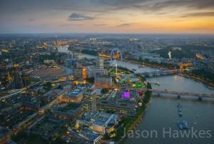 Photo: Amazing Photo of London's Southbank by Photographer Jason Hawkes