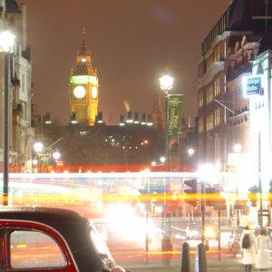 Photo: Big Ben and Whitehall from Trafalgar Square – 2005
