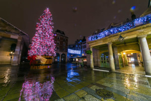 Covent Garden is Officially Ready for Christmas