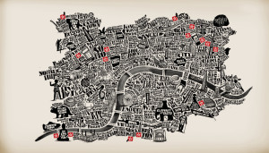 London Maps: The Converse Map of London
