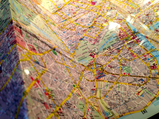 Folded Map - No Longer Needed