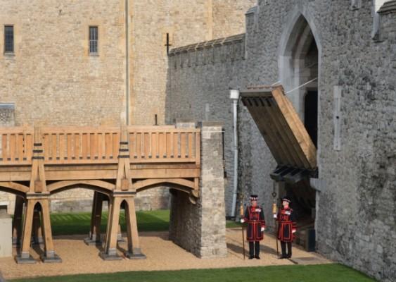 Halt! The Tower of London Gets a New Working Drawbridge
