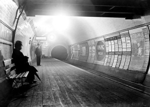 History: Check Out This Amazingly Atmospheric Image of the London Tube from the 1890's.
