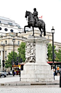 The Official Center of London May Have to Be Moved 900 Yards From Its Current Location at Trafalgar Square Charles I Statue