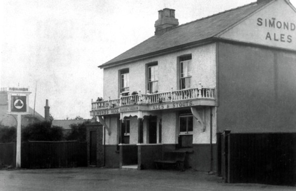 "There are three pubs – ""The Three Magpies"" and ""The Old Magpie"", together with the more recent – that is, 19th century – ""Plough and Farrow"" (above)."