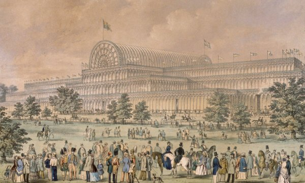 Great London Art: The Crystal Palace in London During the Great Exhibition of 1851