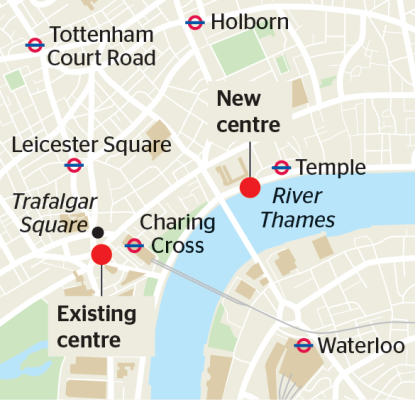 Map from Times.co.uk