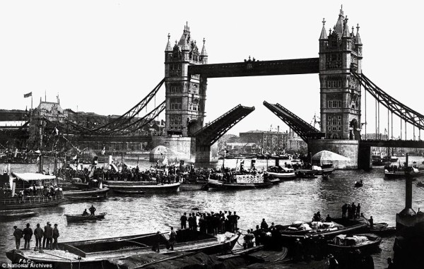 The Grand Royal Opening of Tower Bridge