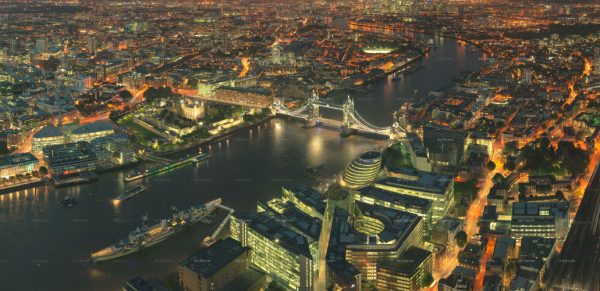 London Photo: Check Out This Amazing New Panorama of London taken from the Shard by Will Pearson