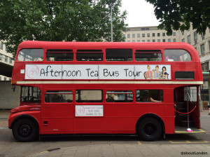 File This For Your Next Trip to London: Take Afternoon Tea On a Vintage Routemaster London Bus As it Tours London – Review Inside
