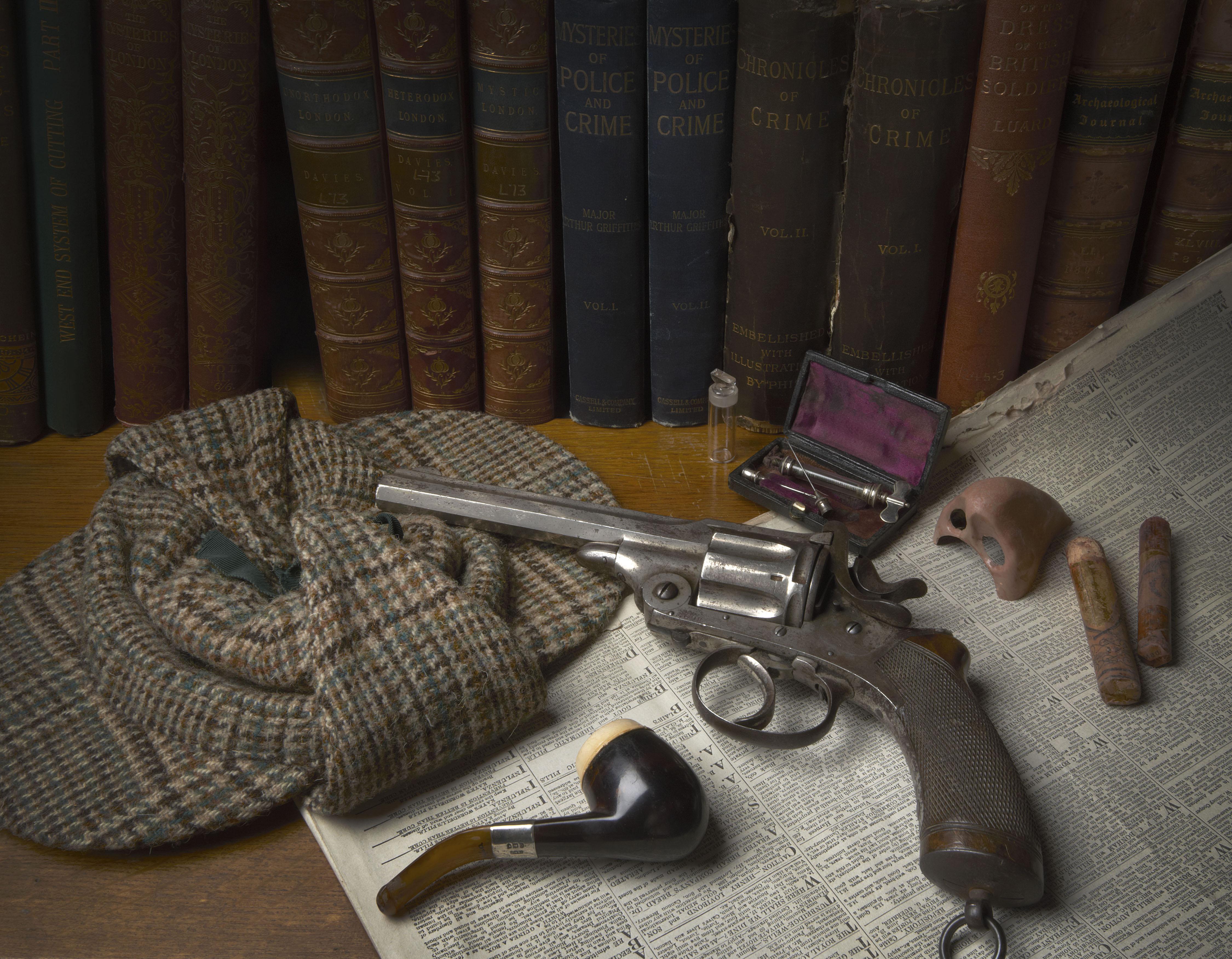 "Londontopia Exclusive: Laura Porter Explores the New Sherlock Holmes Exhibition at the Museum of London ""The man who lived and will never die"""