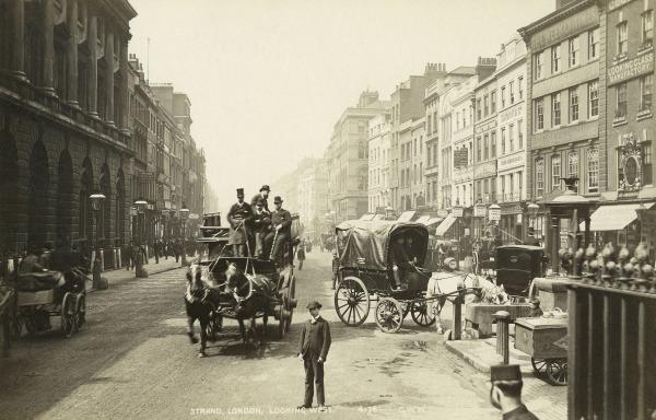 Earliest photos of london