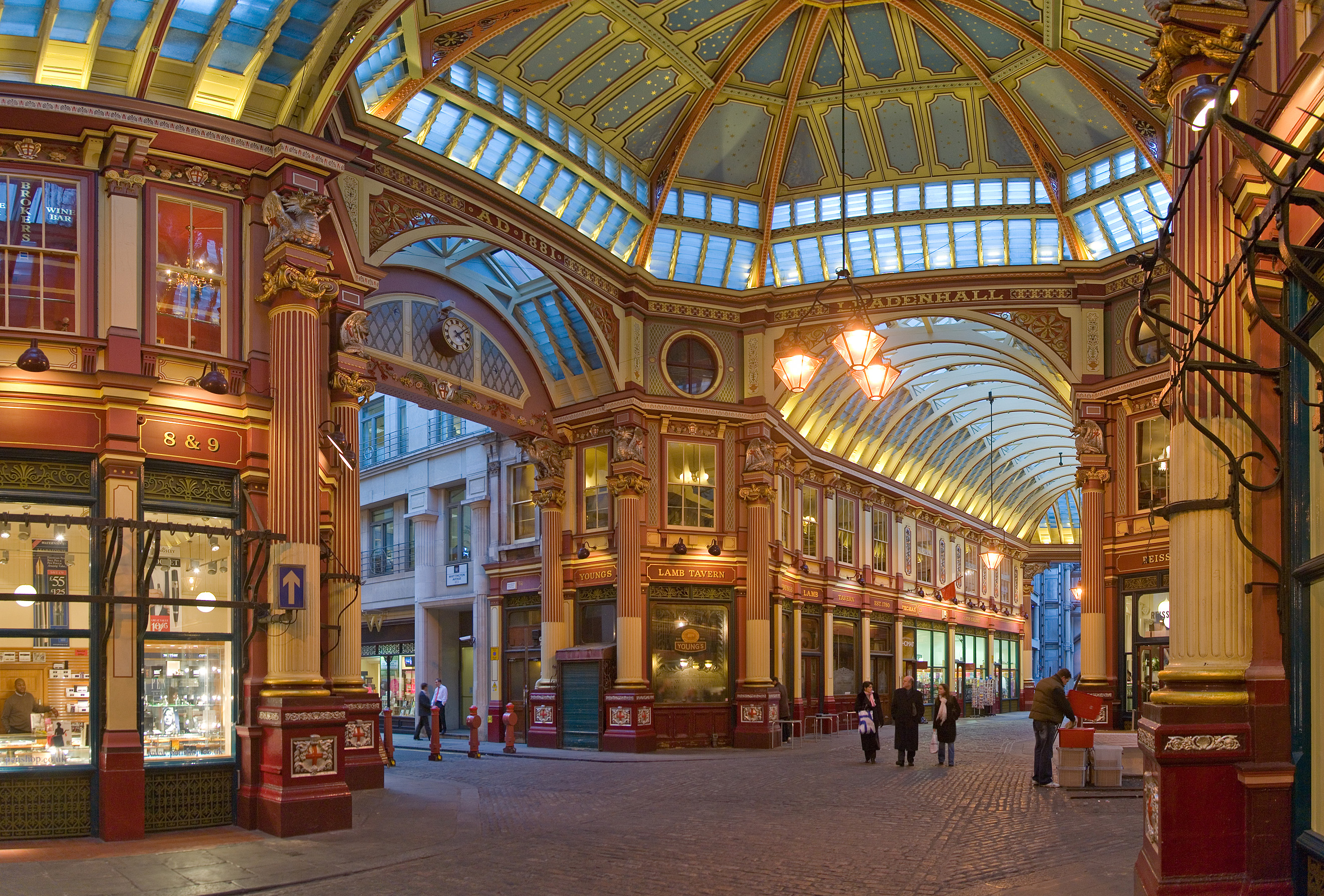 Ten Interesting Facts and Figures about Leadenhall Market