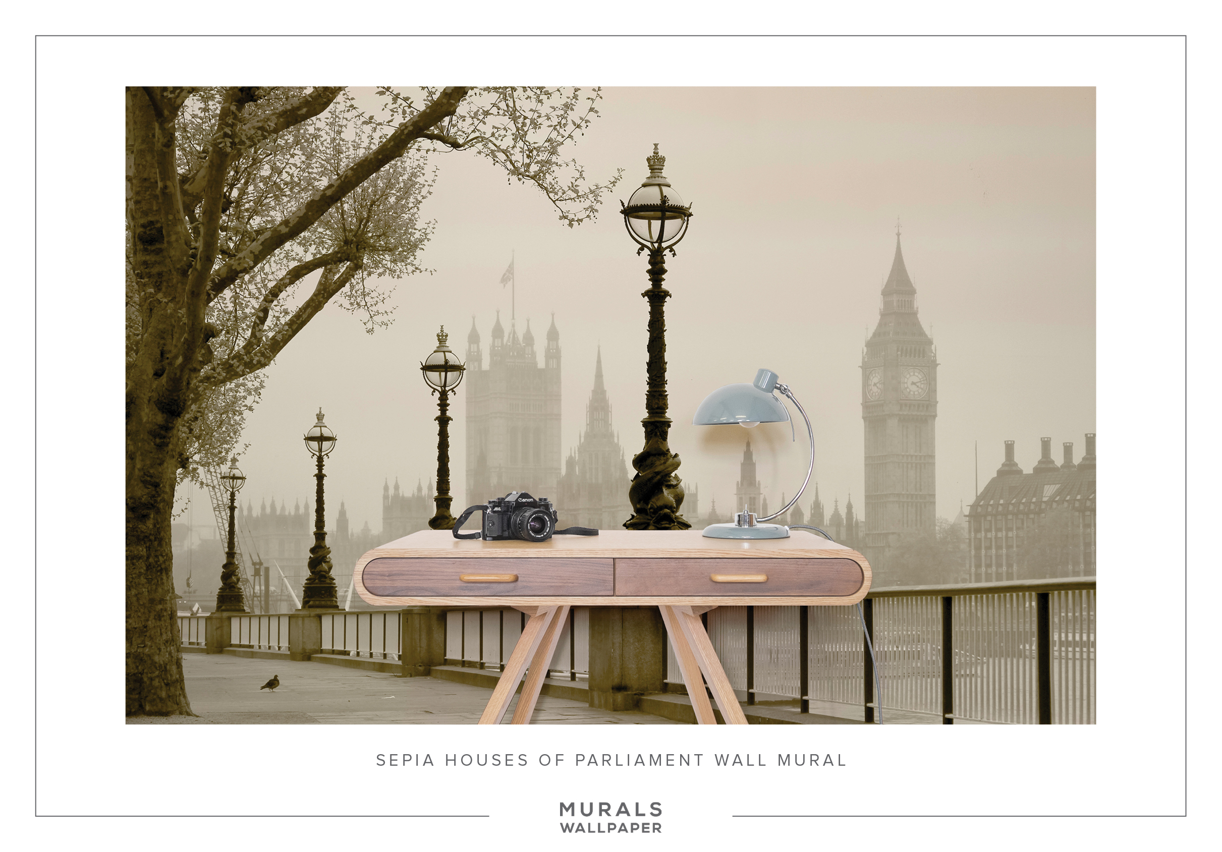 Cool product alert stunning wallpaper murals of london for Cool mural wallpaper