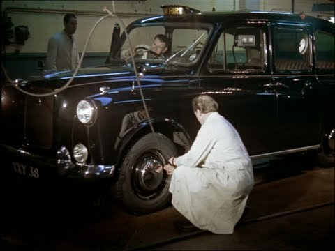 London Taxi: A Fascinating Look at the Life of London Taxi Drivers in the 1960's