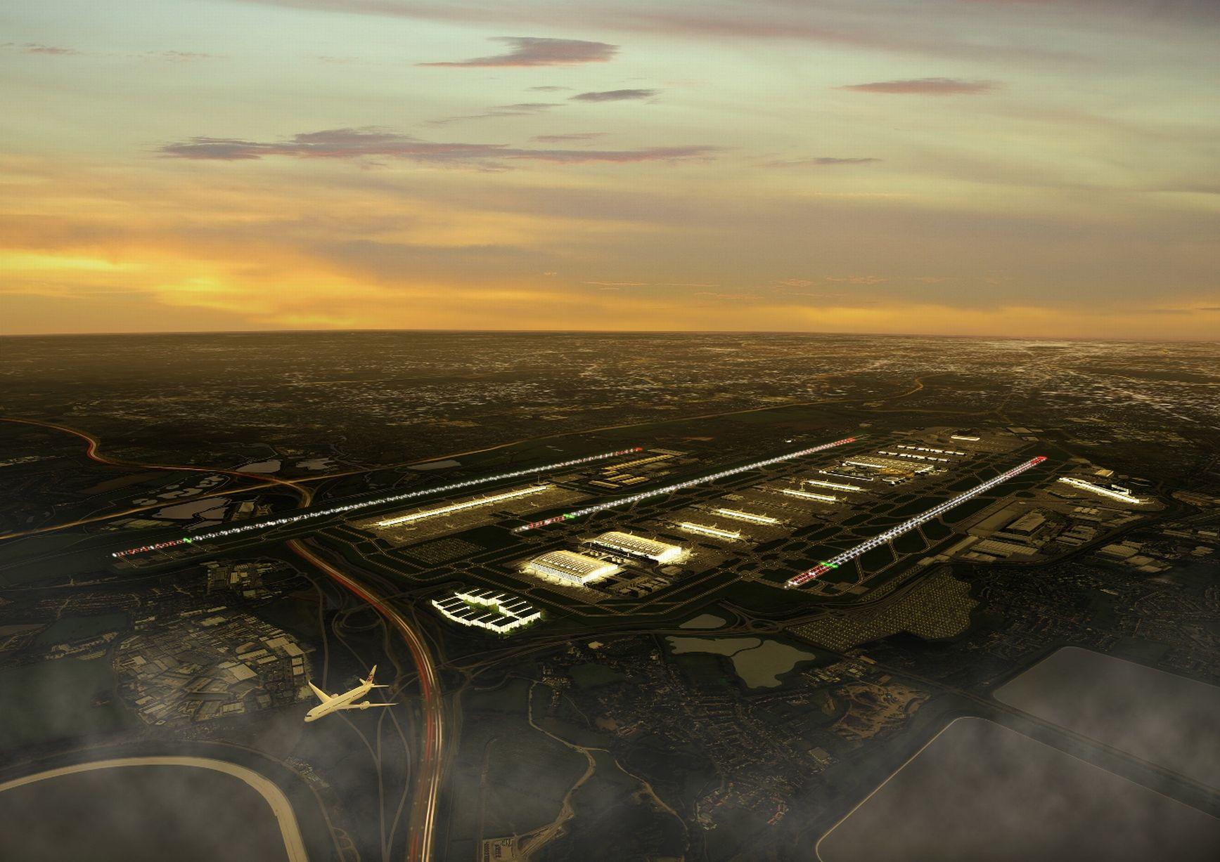 Future Heathrow: What Will Heathrow's Third Runway Look Like? Like This.