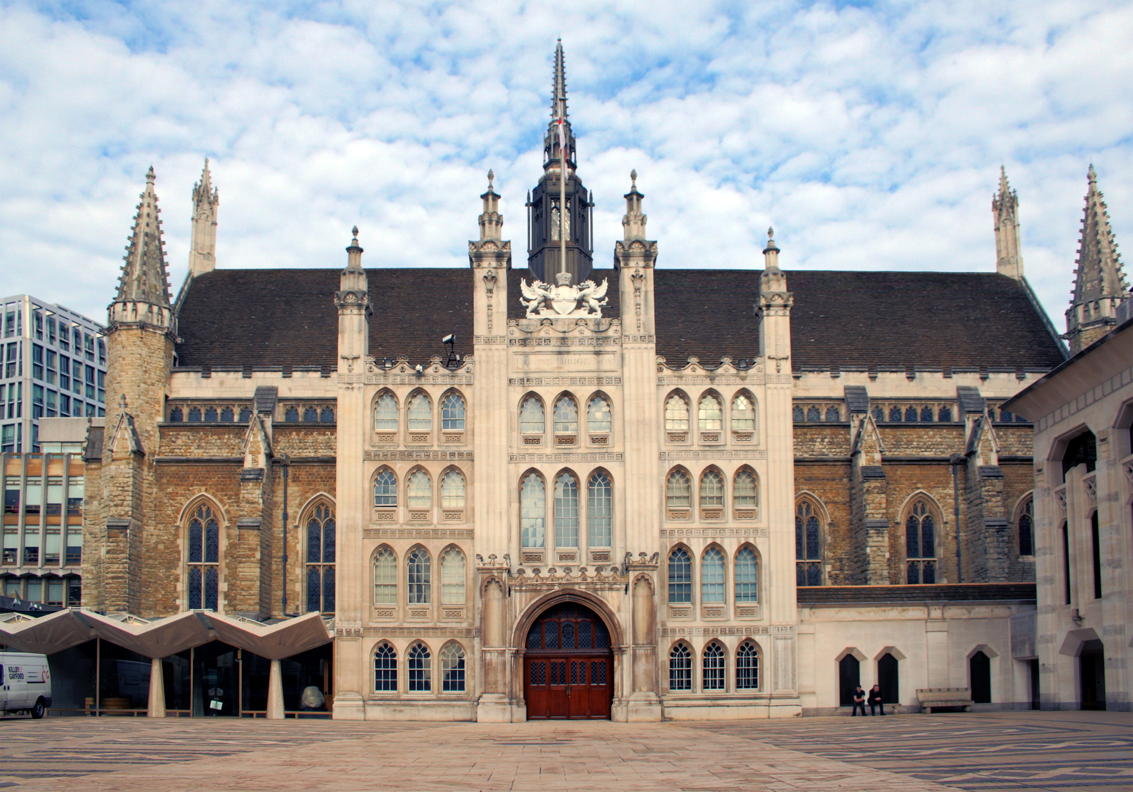 great london buildings the guildhall the city of london 39 s centre of power londontopia. Black Bedroom Furniture Sets. Home Design Ideas