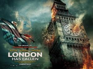 London Movies: London Blows Up in London Has Fallen