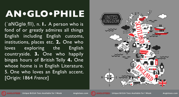 London Alert: Anglotees Alert: New Designs LIVE – Anglophile and The Kingdom Map