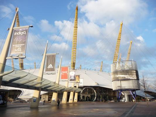 The_O2_Arena,_entrance