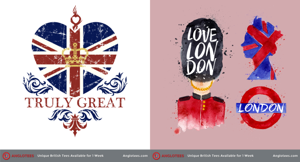 London Alert: New Designs LIVE – Truly Great Britain and London Love