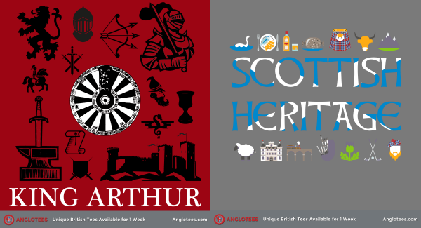 London Alert: New Designs LIVE – King Arthur and Scottish Heritage