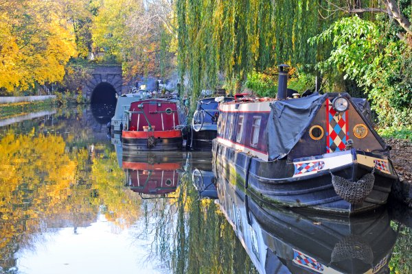 city canal in london