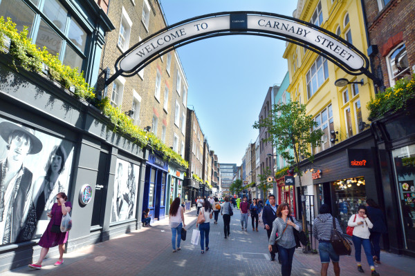 Ten Interesting Facts and Figures About Carnaby Street
