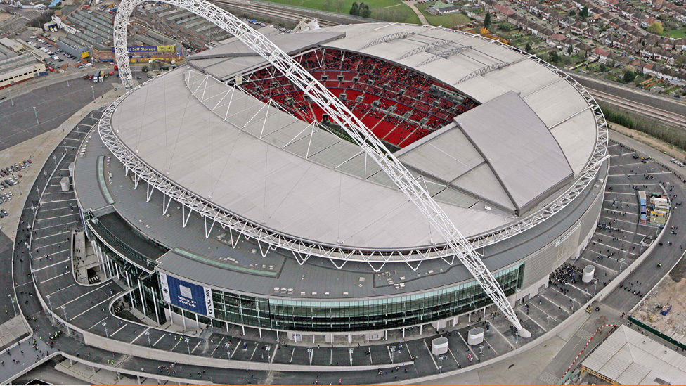 Great London Buildings – Wembley Stadium – England's National Stadium