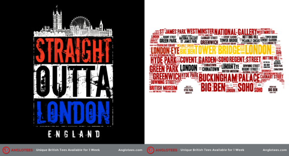 London Alert: New Design LIVE – Straight Outta London and Red London Bus Tribute
