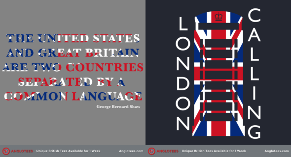 London Alert: New Designs LIVE – London Calling Mark 3 and Two Nations Separated by a Common Language
