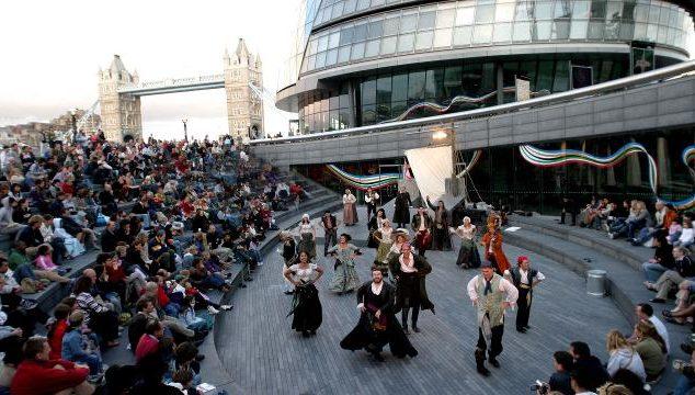 The Fiver – Five Pseudo-Public Spaces in London