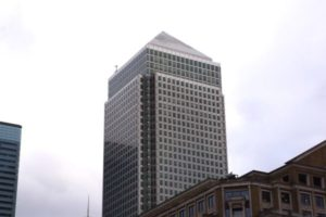 Great London Buildings – One Canada Square in Canary Wharf